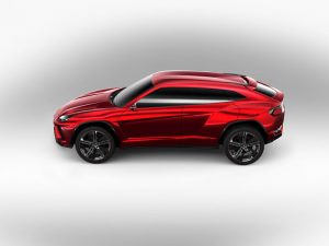 Lamborghini to double production with new SUV 6 / 10 The Lamborghini Urus concept SUV was presented at the Beijing auto show in 2012. (Courtesy image/Lamborghini)