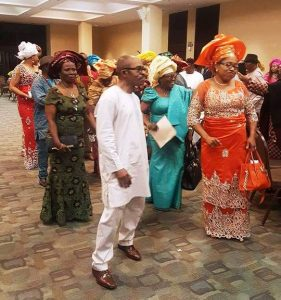 Engineer Godson & Mrs. Ngozi (Stainless) Ezekwo at the traditional bridal shower and wedding celebration.