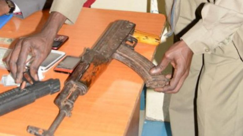 Police Kill Three Suspected Gangsters In Kisumu Recover AK 47 Rifle