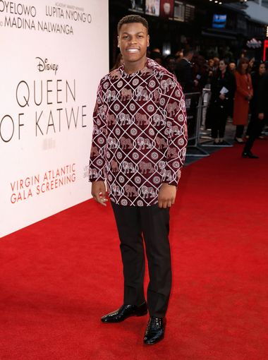 John Boyega attends the Queen of Katwe screening at the 2016 BFI Film Festival, London.