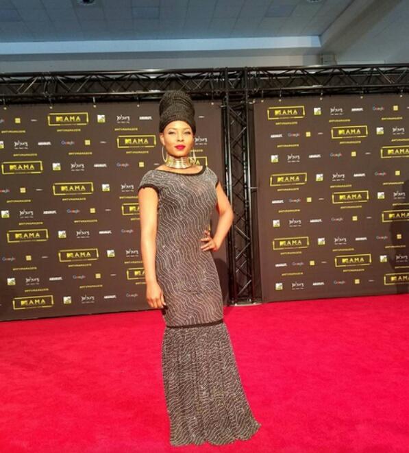 Yemi Alade at MTV MAMA 2016