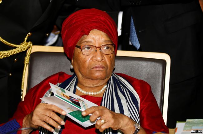 Image result for liberia president