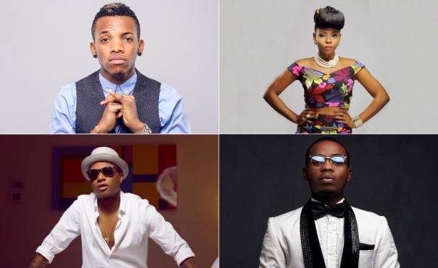 Nigerian Artists Honoured at Inaugural Soundcity MVP Awards - AFRICA